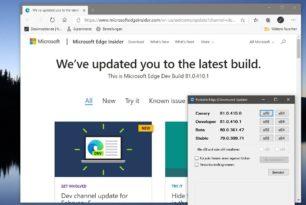 Microsoft Edge Dev 81.0.410.1 mit weiteren neuen Funktionen
