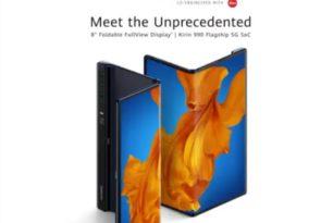 Huawei Mate Xs: Foldable Smartphone kommt für stolze 2499,- Euro