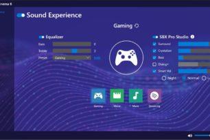 Sound Blaster Command und Cinema 6 als App im Microsoft Store