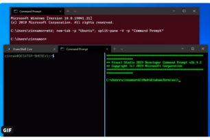 Windows Terminal öffnet Fenster und Tabs über die Befehlszeile (kommt am 11.02.)