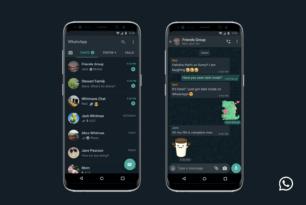 WhatsApp: Darkmode für iOS & Android verfügbar