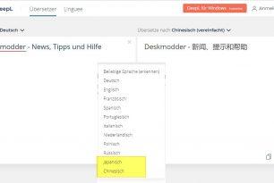DeepL übersetzt nun in 10 Sprachen – Neu Chinesisch und Japanisch