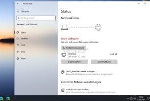 Windows 10- Anzeige von eingeschränkter oder keiner Internetverbindung – Microsoft arbeitet daran