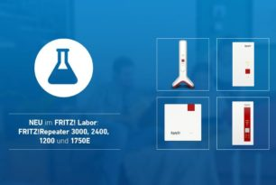 FRITZ!Repeater 1200, 1750E, 2400 & 3000 erhalten Laborversion (7.19)