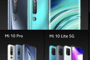Xiaomi Mi 10, Mi 10 Pro & Mi 10 Lite 5G für Deutschland angekündigt