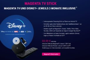 Magenta TV-Stick für 69,99 Euro steht nun zur Verfügung
