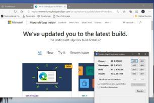 Microsoft Edge 82.0.453.2 mit weiteren Neuigkeiten im Dev Kanal