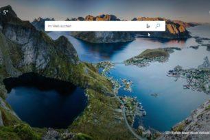 Microsoft Edge:  Suchbox Suchanbieter auf Google, DuckDuckGo oder andere ändern nun möglich