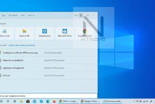 Microsoft Rewards in der Windows 10 Suche – Punkte-Anzeige integriert