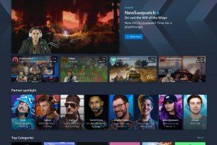 Mixer mit neuer Homepage Ansicht und neuen  Funktionen