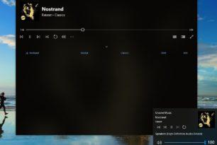Windows 10: Musik über die Lautstärke-Einstellung steuern kommt doch noch?