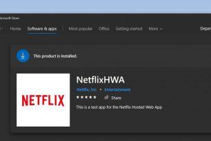 Netflix HWA als Testapp – warum nicht PWA?