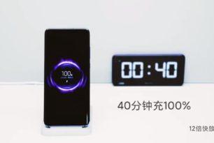 Xiaomi demonstriert 40 Watt kabellose Schnellladefunktion beim Mi 10 Pro