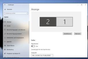 Windows 10: Automatische Helligkeitsanpassung mit HDR-Bildschirmen dauert länger