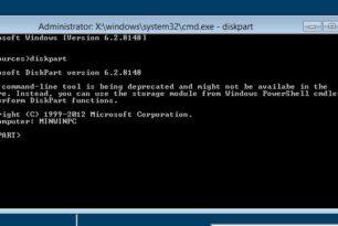 Microsoft wollte Diskpart aus Windows 8 werfen