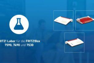 FRITZ!Box 7590, 7490, 7530 mit Labor-Version – Korrekturen wurden vorgenommen
