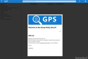 Group Policy Search im neuen Outfit und nun schon 10 Jahre Online