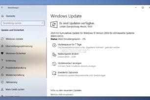 KB4552455 Windows 10 2004 19041.173 (Manueller Download) (9.04.2020)
