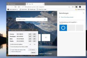 Microsoft Edge 81.0.416.53 (Stable) mit vielen Änderungen wurde bereitgestellt (Changelog)