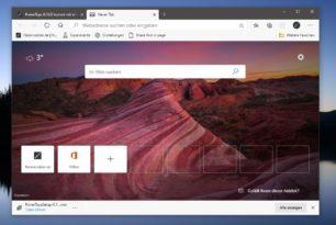 Microsoft Edge 83.0.467.0 im Dev Kanal mit weiteren Verbesserungen