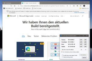 Microsoft Edge 84.0.495.2 in der Dev Version erschienen [Update]