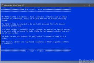 MSMG Toolkit 9.7 und 9.8 entfernt nun auch Windows 10 2004 Apps und Komponenten