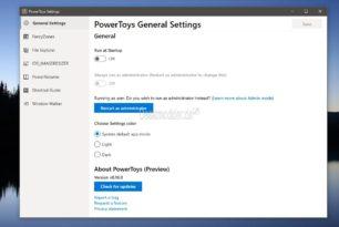 PowerToys 0.16.0 kommt mit einigen Verbesserungen und neuen Funktionen