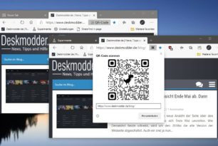 QR Code im Microsoft Edge aktivieren und nutzen