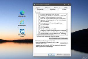 Microsoft Edge (alt und neu) und IE: TLS 1.0 und 1.1 werden später deaktiviert