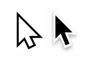 Windows- & macOS-Mauszeiger: beide sind asymmetrisch
