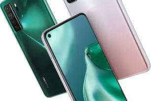 Huawei P40 Lite 5G offiziell vorgestellt