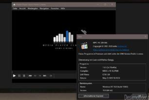 Media Player Classic (MPC-HC) 1.9.3 mit einigen Verbesserungen