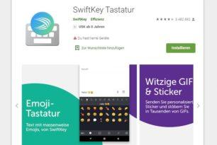 Microsoft SwiftKey Keyboard – Der neue Name der SwiftKey App