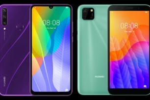 Huawei Y5p & Huawei Y6p: Zwei neue Einsteiger-Smartphones landen in Deutschland