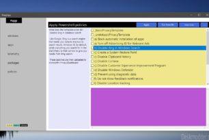 """SharpApp 0.35.0 ändert Scripting Bereich in """"Policies"""""""
