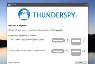 Thunderbolt Anschlüsse können für Angriffe ausgenutzt werden – Mit Thunderspy prüfen