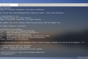 Winget – Windows Package Manager einmal angeschaut