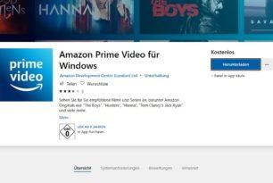 Amazon Prime Video als App – Videos ansehen, herunterladen, offline anschauen [Update]