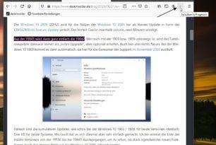 """Firefox: """"auto find text fragment"""" – Link zu einem Textabschnitt erstellen"""