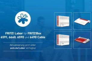 Fritz!Box 6591, 6660, 6590 und 6490 Cable mit einem neuen Update