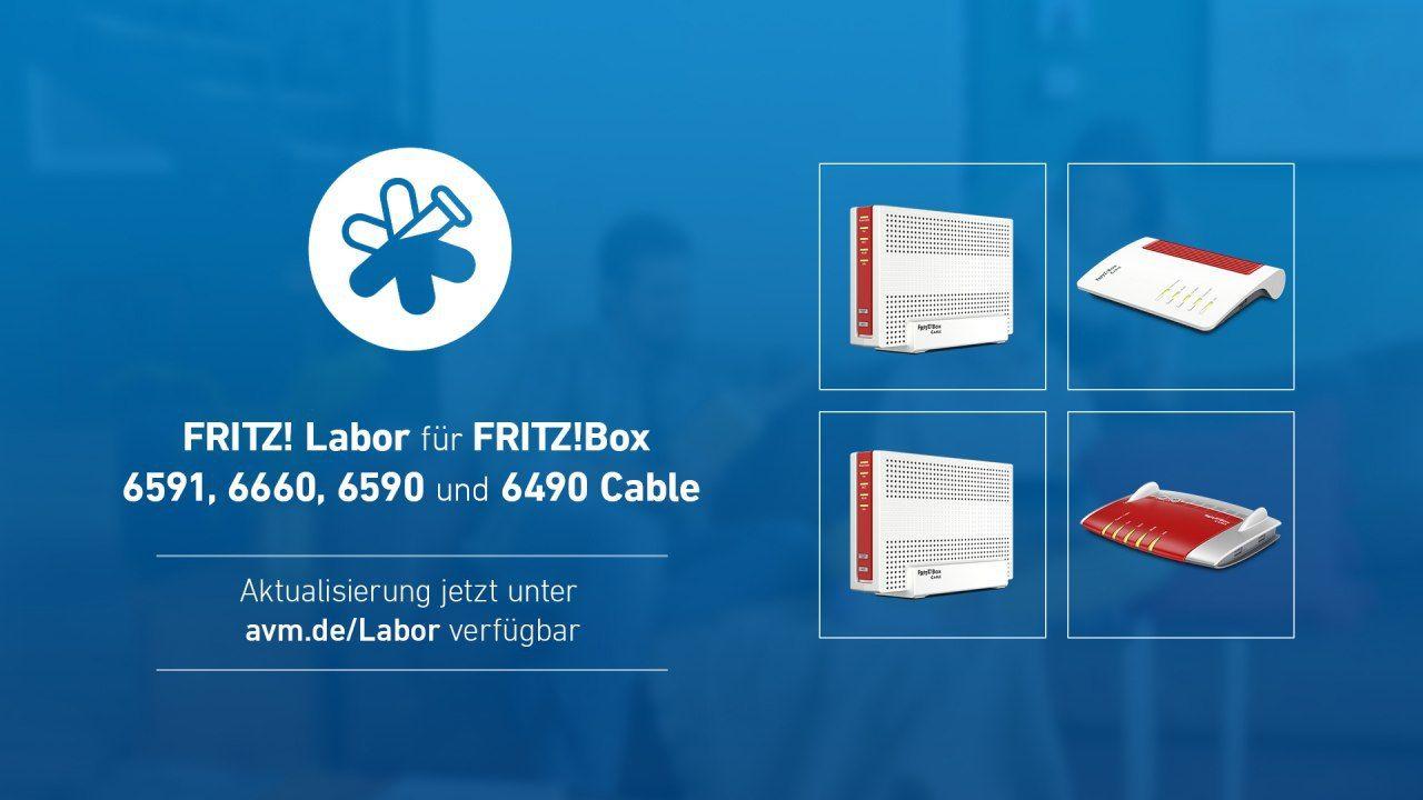 FritzBox 20, 20, 20 und 20 Cable mit einem neuen Update ...