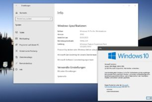 KB4562830 Feature-Update auf die Windows 10 20H2 (2009) 19042 [Manueller Download]