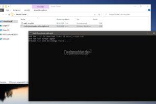 Multi Downloader ganz einfach mit Aria2 [Update]