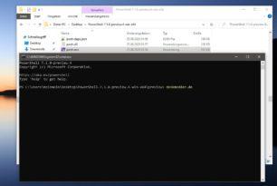 PowerShell 7.1 Preview 4 und .NET 5.0 Preview 6 sind erschienen