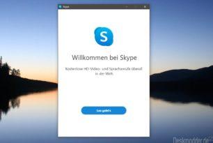 Skype 8.61 (Version15) Offizieller Wechsel und nur noch eine Windows Version