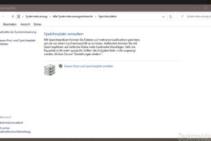 Windows 10 2004 Probleme mit dem Speicherplatz – Workaround von Microsoft Teil 2