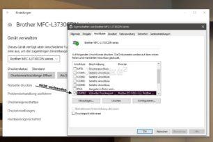 USB-Drucker nicht in der Liste der Drucker und Scanner [Update steht bereit] Windows 10 2004 bis zur 1903
