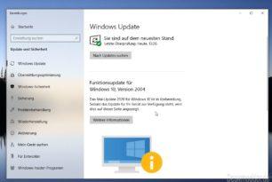 Windows 10 Update-Block Infos sollen detaillierter kommen