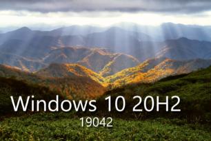 Windows 10 2004 RP bekommt das Funktionsupdate auf die Windows 10 20H2 19042 angeboten