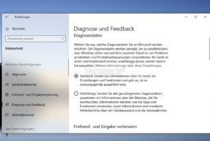 Windows 10 Insider: Einstellungen wurden geändert / verschoben